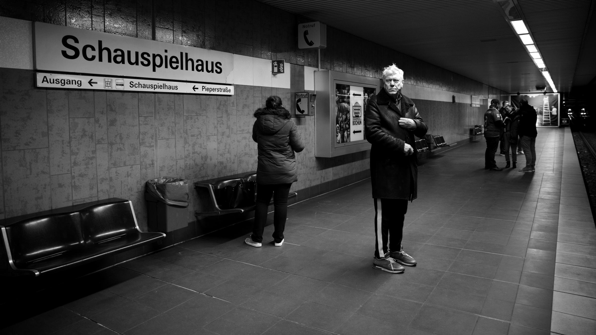 """Stadtschreiber """"Vom Rang aus"""" © Philipp Wente"""