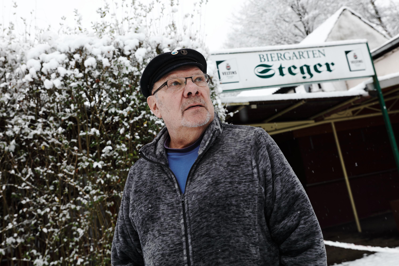 Lucas Vogelsang ist der Stadtschreiber Ruhr 2019 und besuchte Steger.
